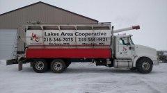 Bulk Feed Delivery Trucks